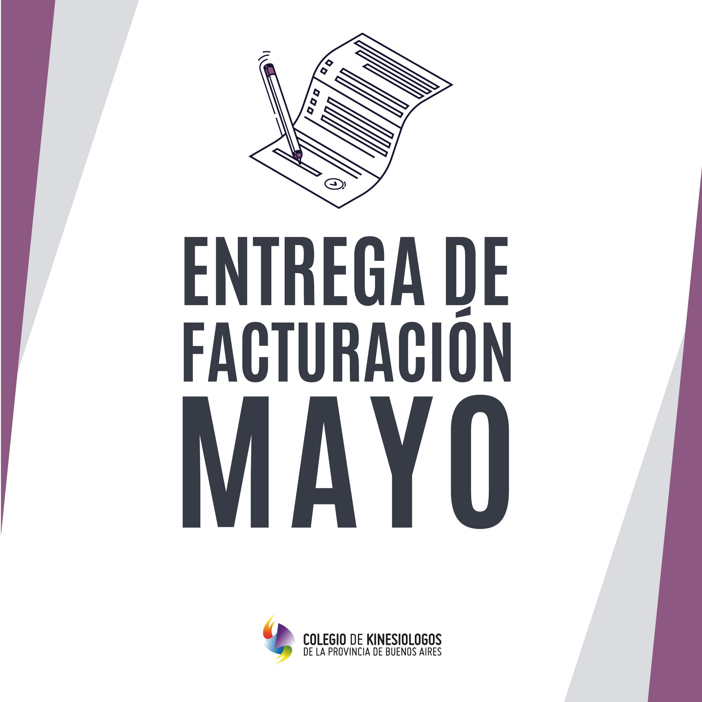Entrega de Facturación Mayo