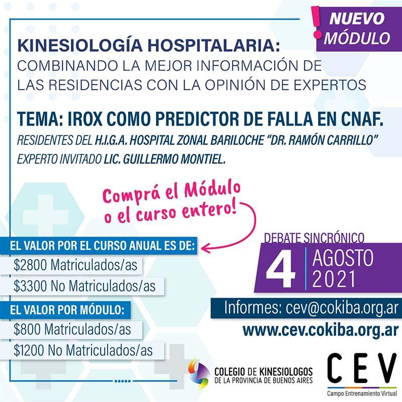 """""""Kinesiología Hospitalaria: Combinando la mejor información de las Residencias con la opinión de expertos"""""""