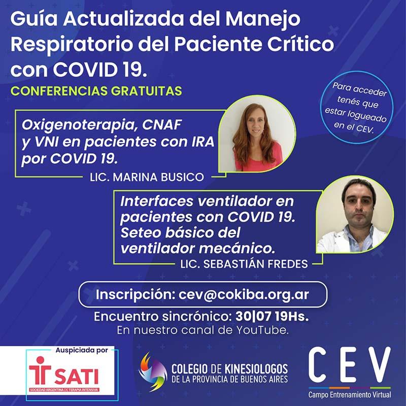 Guía actualizada del manejo respiratorio del paciente crítico con COVID-19