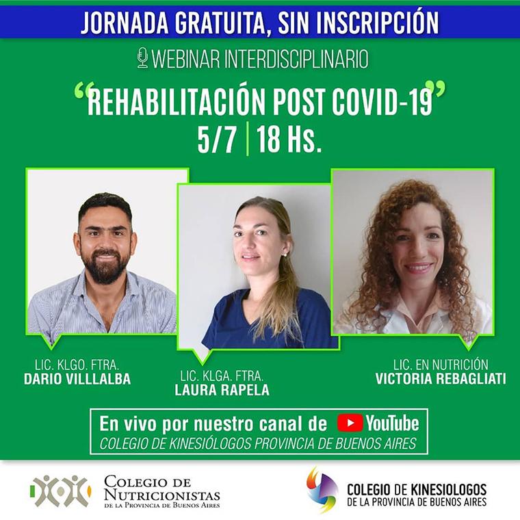 Rehabilitación en pacientes post #COVID19